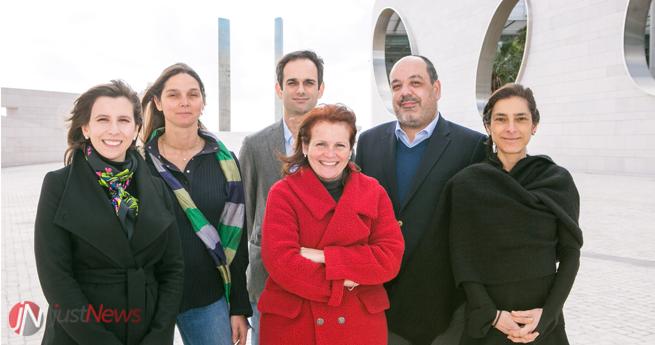 Alguns dos membros da Comissão Organizadora: Sara Castro, Heidi Gruner, Vita Pedro, Maria Francisca Moraes Fontes, António Marinho e Sofia Pinheiro.