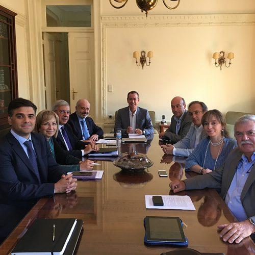Reunião da direcção da SPMI e do colégio de Medicina Interna com o Bastonário da Ordem dos Médicos, Dr. Miguel Guimarães