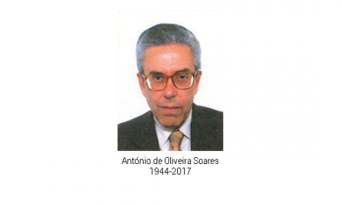 Falecimento do Dr. António de Oliveira Soares