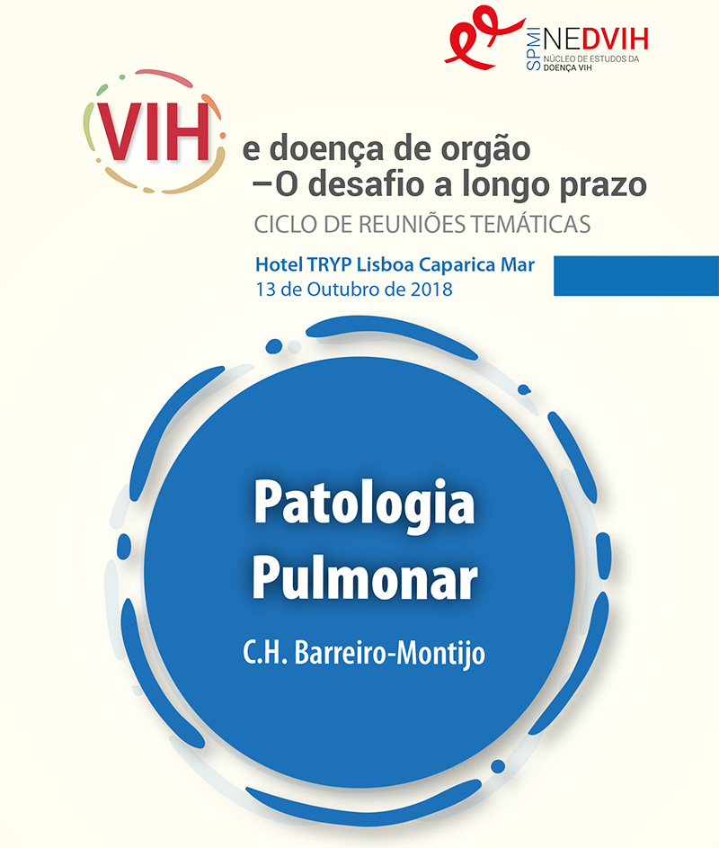 VIH – e doença de orgão – O desafio a longo prazo. Patologia Pulmonar