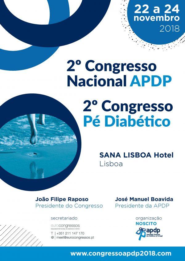 2.º Congresso Nacional APDP / 2.º Congresso Pé Diabético