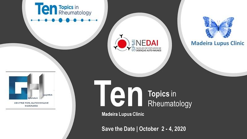 Reunião TenTopics in Rheumatology | Madeira Lupus Clinic 2020 - SPMI