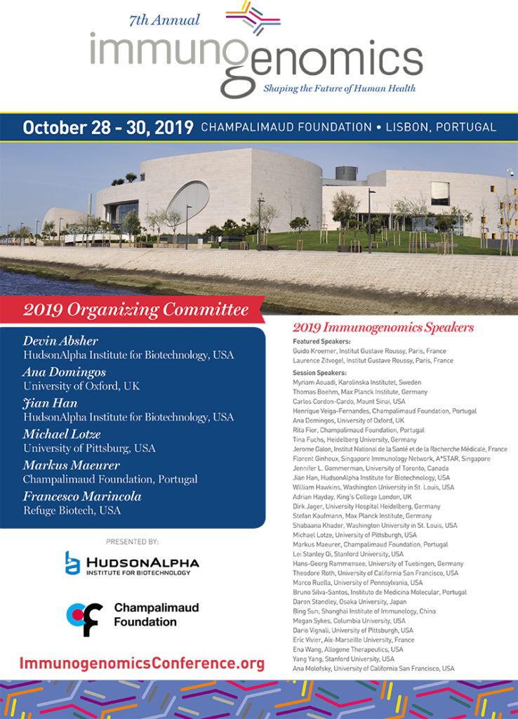 Immunogenomics 2019 Conference