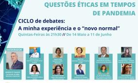 2o Ciclo de Debates: Questões éticas em tempo de pandemia pelo COVID 19
