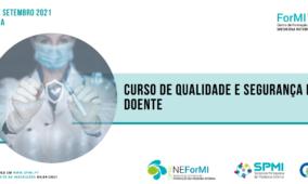 Curso de Qualidade e Segurança do Doente