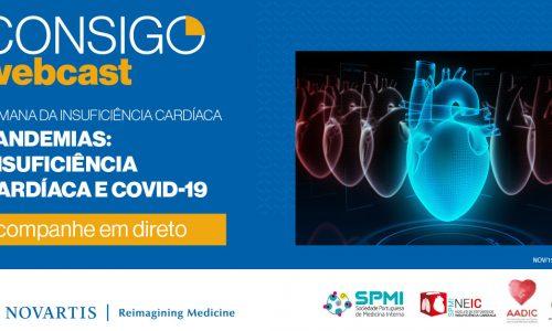 """Webcast """"Semana da Insuficiência Cardíaca – Pandemias: Insuficiência Cardíaca e COVID-19″"""