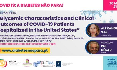"""Webinar """"Covid-19: A Diabetes não para"""" dia 28 de Maio"""