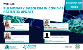 Webinar Pulmonary Embolism in COVID-19 patients: update