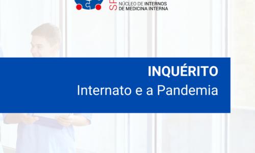 Inquéritos dirigidos aos Internos: Internato e a Pandemia