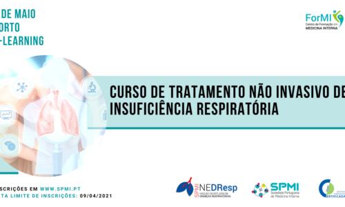Curso de Tratamento não invasivo da Insuficiência Respiratória – Inaloterapia; ONAF; CPAP; VNI