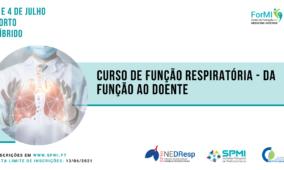 Curso de Função Respiratória – da função ao doente