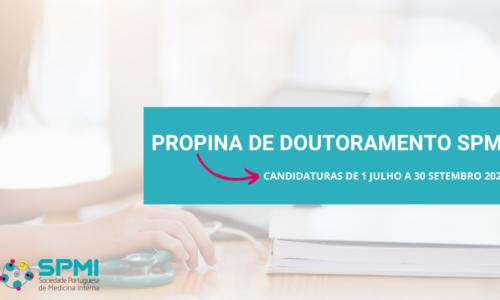 Candidaturas Propina de Doutoramento 2021