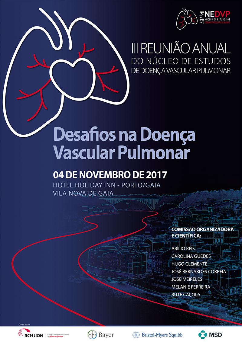 III Reunião Anual do Núcleo de Estudos de Doença Vascular Pulmonar