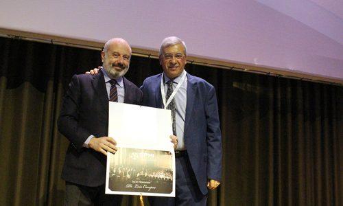Luís Campos distinguido com o título de sócio honorário da SPMI