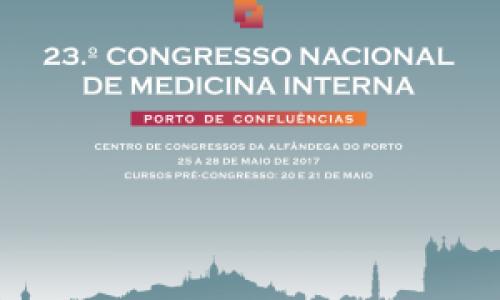 Estão abertas as inscrições para o 23.º Congresso Nacional de Medicina Interna